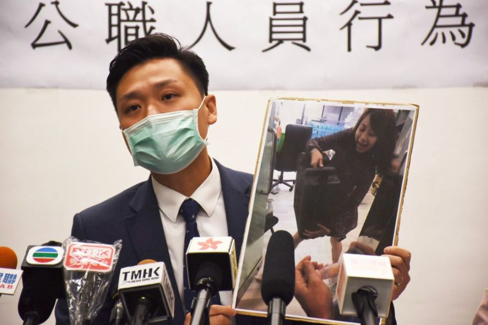 Vincent Cheng DAB district councillor notice March 11