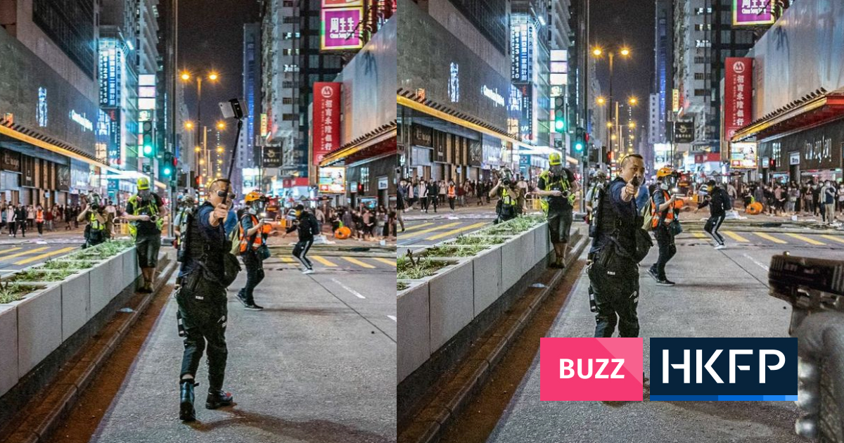 In Pictures: Gun-wielding Hong Kong cop triggers Photoshop battle