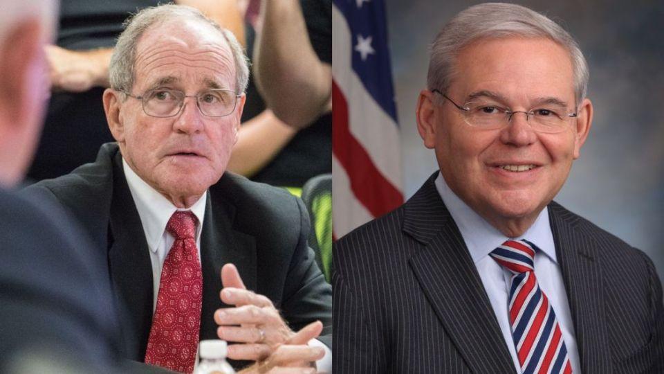 US Senators Jim Risch and Bob Menendez