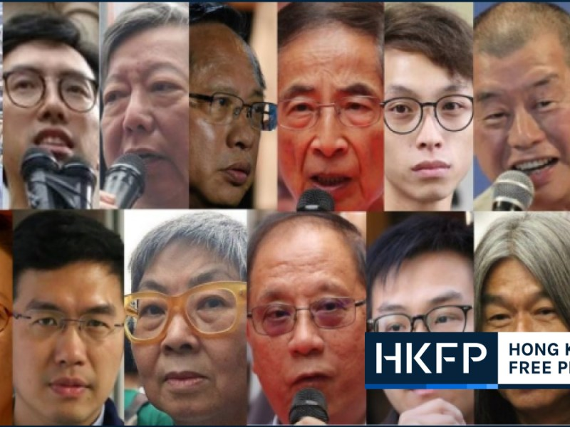 democrats arrested hong kong