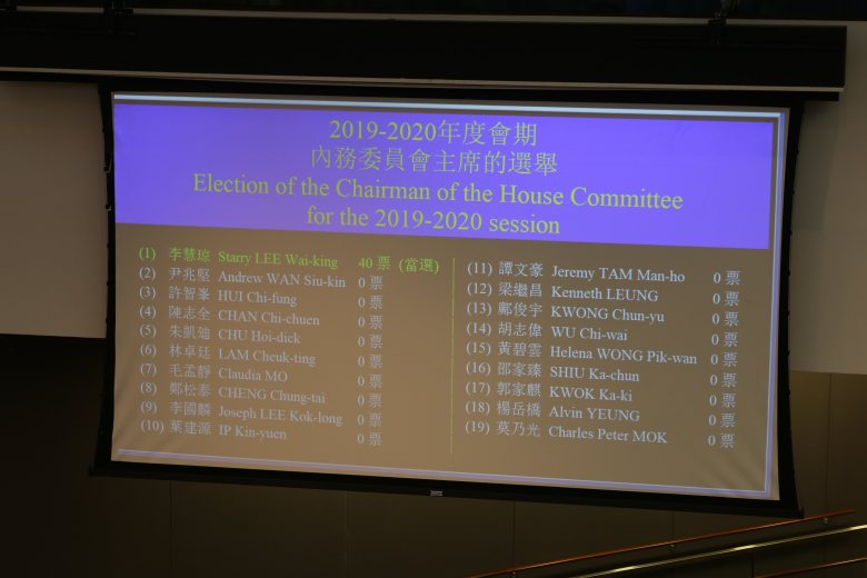 House Committee Starry Lee