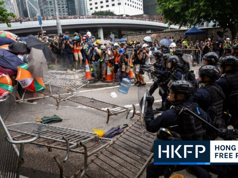 Hong Kong protest doxxing