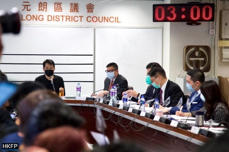 Chris Tang Yuen Long District Council