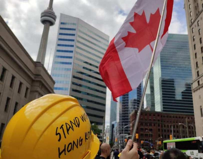 Hong Kong protesters flee to Canada Heidi Lee