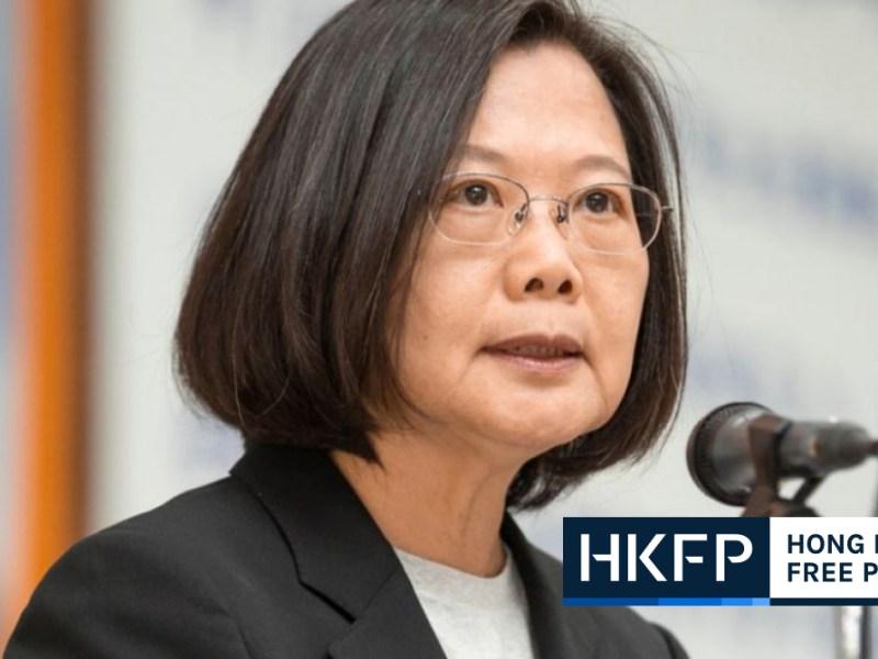 tsai ing wen hong kong
