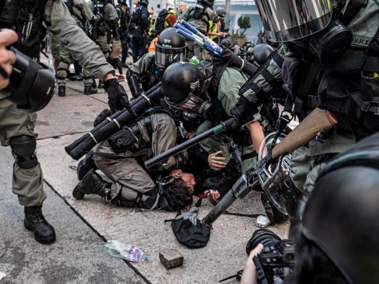 September 29 2019 Protest police arrest