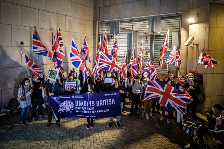 bn(o) British flag UK
