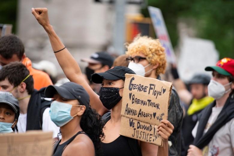 George Floyd US anti-racism protest black lives matter