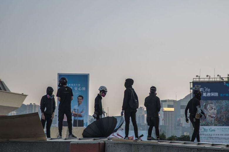 Poly-U Protesters November 2019