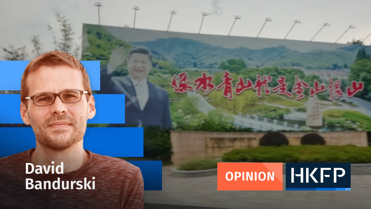 Opinion - David Bandurski xi jinping two mountains theory
