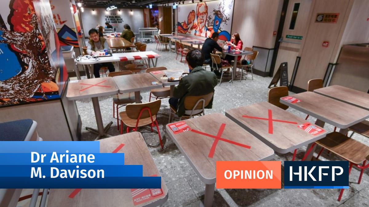 Opinion - Dr Ariane M. Davison - social distancing