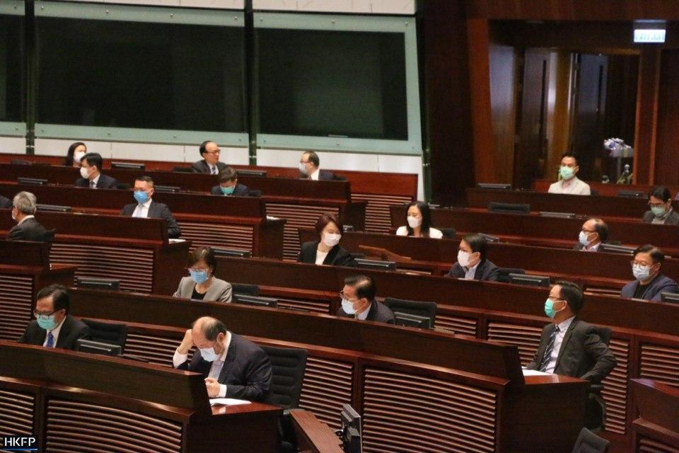 LegCo Legislative Council national anthem bill