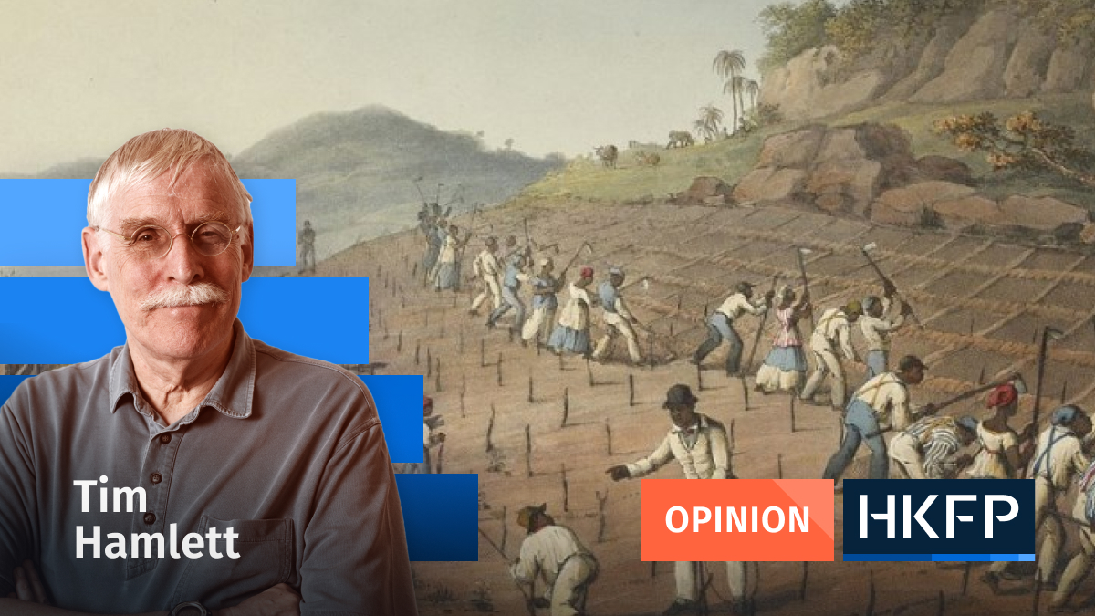 Article - Opinion - Tim Hamlett- slavery