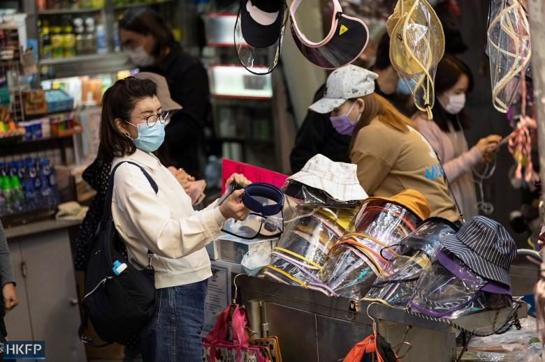 mask protective hats coronavirus covid social distancing