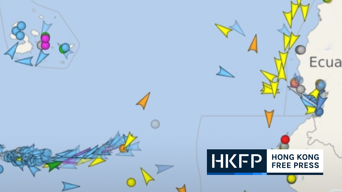 Hundreds of Chinese fishing vessels descend upon Galápagos protection zone | Hong Kong Free Press HKFP