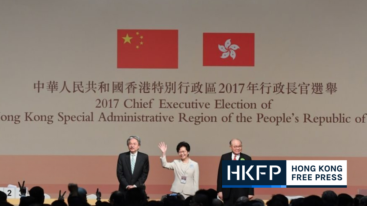 chief executive election committee national security