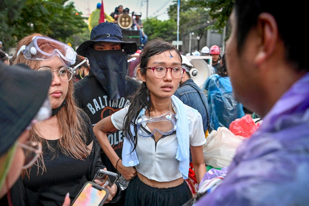 THAILAND-POLITICS-ROYALS-SOCIAL-DEMONSTRATION