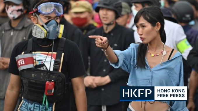 Women on the frontlines of Thailand's democracy movement | Hong Kong Free Press HKFP