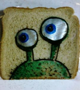 David Lafferiere, l'homme qui dessinait sur les lunch bags de ses enfants sandwich