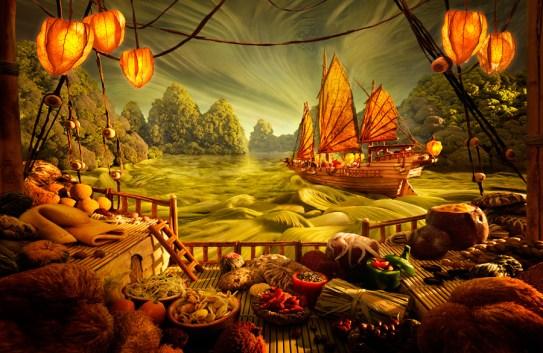 Les époustouflants Foodscapes de Carl Warner
