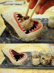 Sushi sauce requin
