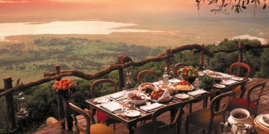 Les plus beaux panoramas du monde: Bar et restaurants Bali tanzania