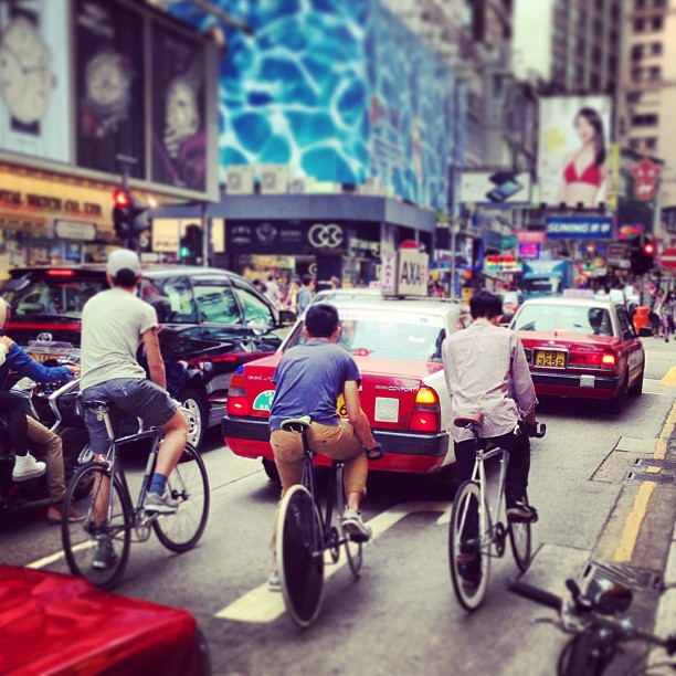 The Movement for Urban Cycling in Hong Kong