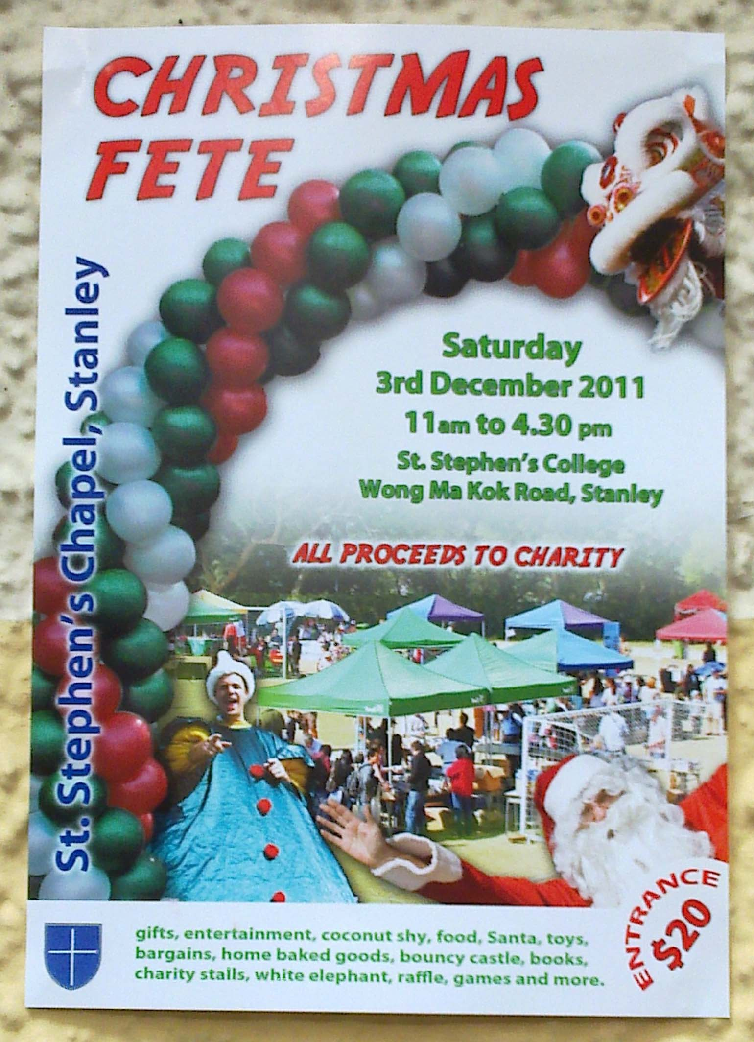 Charity And Christmas Cards Gifts Fairs Volunteering