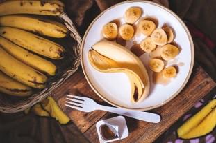 Eine Banane als Energie Beispiel