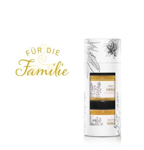 Tube «Für die Familie» Blütenhonig und Rapshonig»