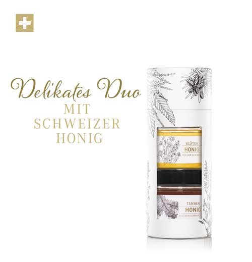 Schweizer Blütenhonig und Weisstannenhonig