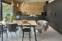 Combine Living And Working In Log House - Honka