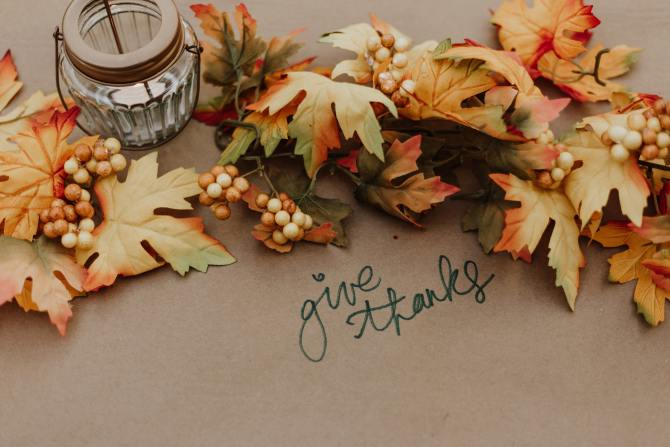 STYLECASTER | Thanksgiving Zoom Backgrounds