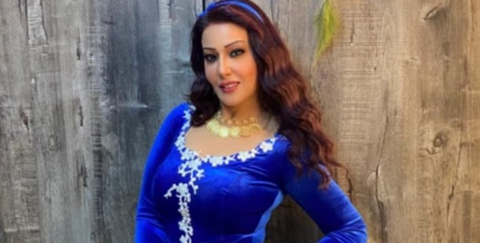 Actress Somaya El Khashab