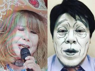 葛城ユキとくっきーの顔の白さ比較画像