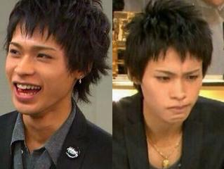 上田竜也の黒髪短髪時代画像