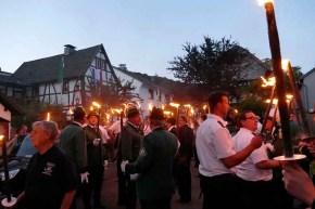 7 1 - Großer Zapfenstreich vor der St. Anna Kapelle
