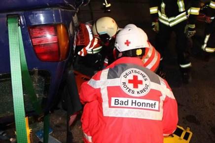 Gemeinsame Uebung 3 - Rettungskräfte Rheinbreitbach und Bad Honnef: Gemeinsam sind wir stark