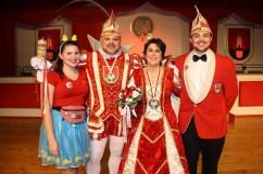 Prokla 8 - Prinz Uli I. und Aegidia Ramona I. sind das neue Prinzenpaar op de Hüh