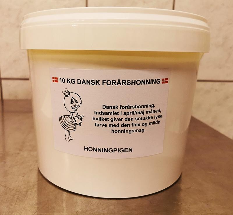 10 kg dansk forårshonning