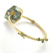 ほのか honoka エメラルド emerald 展覧会 原石 Bracelet ブレスレット