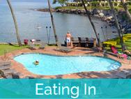 Honokeana Cove activities - eating in