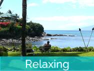 Honokeana Cove activities - relaxing