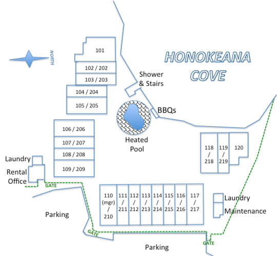 site plan with gates