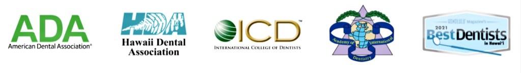Honolulu Dentist, Dr. Gerald Adachi, Professional Memberships