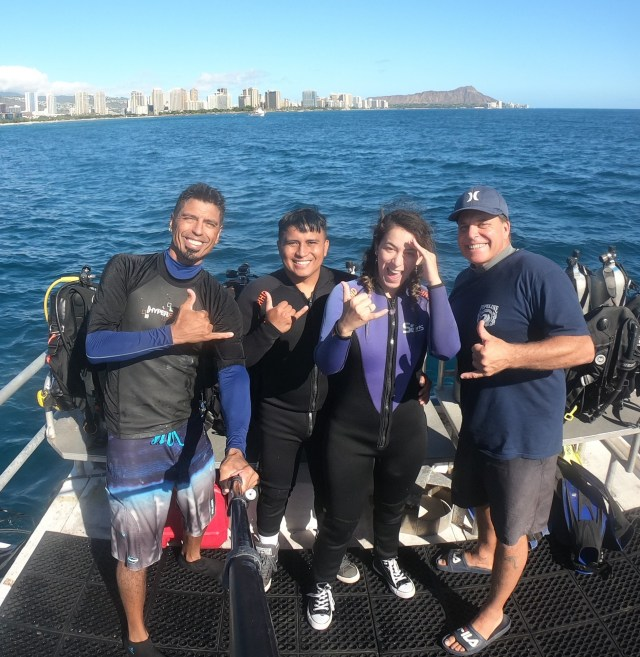first time scuba divers