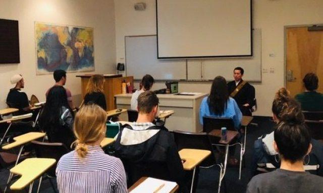 ハワイパシフィック大学での瞑想指導 2