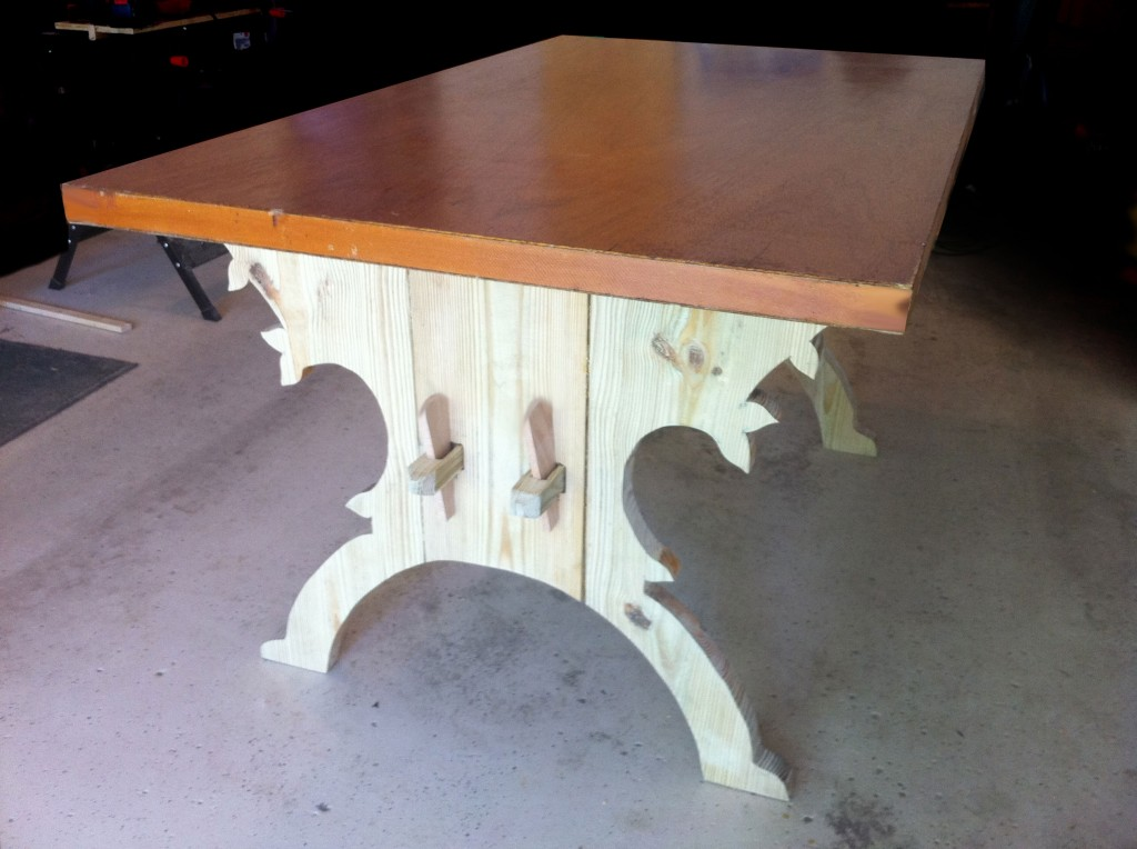 A Trestle Table for Under 35 How I Built a 15thCentury