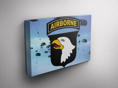 Army Airborne Gallery Wrapped Canvas