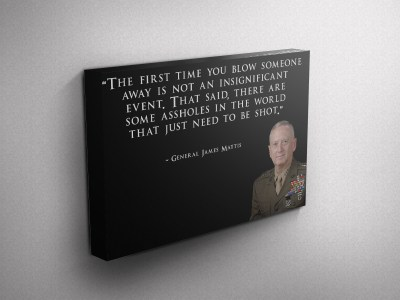 Marine Corps Gallery Wrapped Canvas